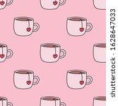 Teacups Seamless Repeat Pattern....