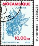 mozambique   circa 1981  a... | Shutterstock . vector #162866288