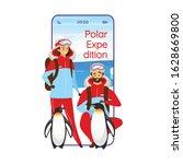polar expedition cartoon...