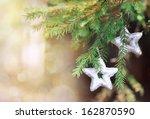 Christmas Decoration Star On...