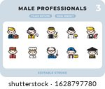 male professionals career...