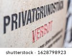 Old Private Property Notice On...