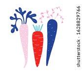 Ripe Raw Carrots  Natural Farm...
