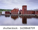Typical industrial architecture in the town of Kouvola, Finland