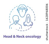 head and neck oncology concept... | Shutterstock .eps vector #1628968006