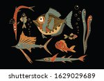 Fish Flat Vector Illustration....