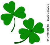 Clover Leaves Icon Set Isolate...