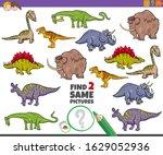 cartoon illustration of finding ... | Shutterstock .eps vector #1629052936