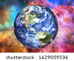 Earth Planet Of Solar System...