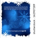 abstract christmas background    Shutterstock .eps vector #162907289
