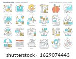 business and finance related ... | Shutterstock .eps vector #1629074443