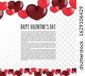 photo frame hearts. design of a ...   Shutterstock .eps vector #1629106429