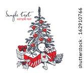christmas card   Shutterstock .eps vector #162910766