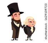 Cartoon Of Presidents George...