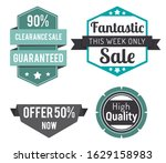 fantastic sale this week only.... | Shutterstock .eps vector #1629158983