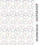 geometric ornamental vector... | Shutterstock .eps vector #1629181429