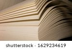 sheets of book that are colored ... | Shutterstock . vector #1629234619