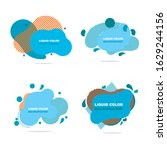 abstract liquid shape graphic...   Shutterstock .eps vector #1629244156