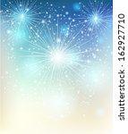 vector christmas background... | Shutterstock .eps vector #162927710