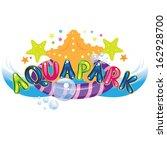 aqua park  | Shutterstock .eps vector #162928700
