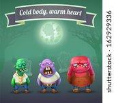 Zombie Character Vector