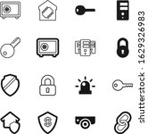 Security Vector Icon Set Such...