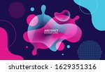 abstract liquid background.... | Shutterstock .eps vector #1629351316