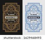vintage label for packing....   Shutterstock .eps vector #1629468493