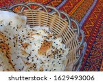 traditional turkish bread in a...   Shutterstock . vector #1629493006