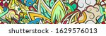 tracery seamless pattern.... | Shutterstock .eps vector #1629576013