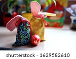 Colorful Bags With Bunny Ears...