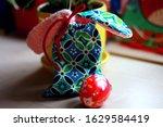 Colorful Bag With Bunny Ears...