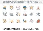 coronavirus  covid 19  vector... | Shutterstock .eps vector #1629660703