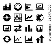 business infographic icons | Shutterstock .eps vector #162971720
