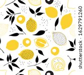 tropical seamless pattern with... | Shutterstock .eps vector #1629791260