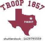 Troop 1857 Logo Vector Iluustration