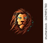 lion design illustrations logo... | Shutterstock .eps vector #1629892783