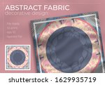 abstract fabric decorative... | Shutterstock .eps vector #1629935719