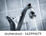 Open Faucet  Water Is Running ...