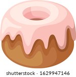 illustration of donut  with...   Shutterstock .eps vector #1629947146