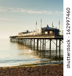 English Pier By The Sea  A...