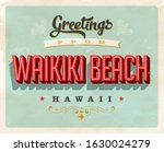 vintage touristic greeting card....   Shutterstock .eps vector #1630024279