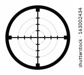 sniper black finder target... | Shutterstock .eps vector #163002434