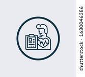 health check up  cardiovascular ... | Shutterstock .eps vector #1630046386