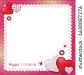 vector heart of valentine...   Shutterstock .eps vector #1630087276