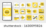 vector banner template with... | Shutterstock .eps vector #1630095826