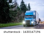 Big Rig Blue Industrial Diesel...