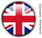 uk flag glossy button | Shutterstock . vector #163024310