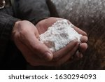 Natural Raw Salt In Miners...