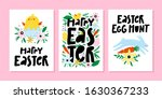 set of spring and easter... | Shutterstock .eps vector #1630367233